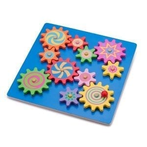 Spinning Gear Puzzle