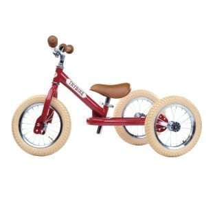 Trybike Steel 2 in 1 Vintage Red