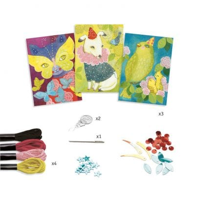 Djeco-Stitching-Cards-Carnival-Craft-1