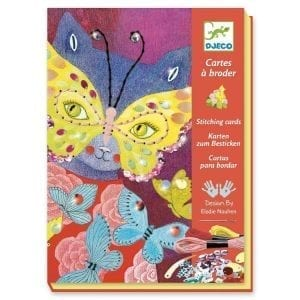 Djeco Stitching Cards Elegant Carnival