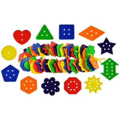 12 Shape Number & Geometry Buttons