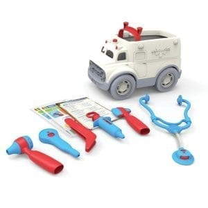 GreenToys Ambulance and Doctor Kit