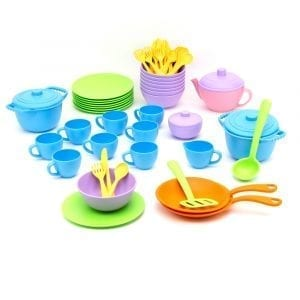 GreenToys Classroom Cafe Set