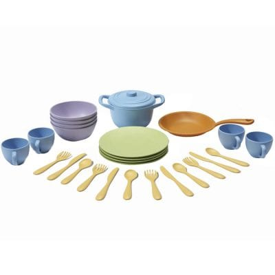 GreenToys Cookware and Dining Set