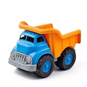GreenToys Dump Truck Blue Orange
