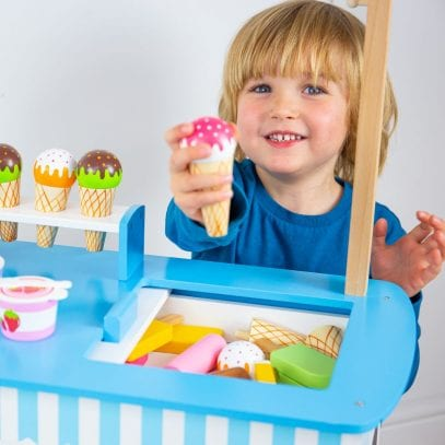 Ice-Cream-Cart-with-Accessories-Pretend-Play-3