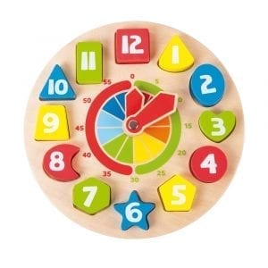 Shapes Teaching Clock