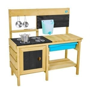 TP Deluxe Wooden Mud Kitchen