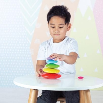 Wooden-Stacking-Toy-Coloured-Pebbles-1