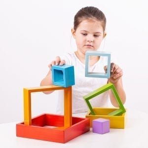 Wooden Stacking Squares