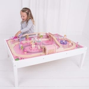Magical Train Set and Table