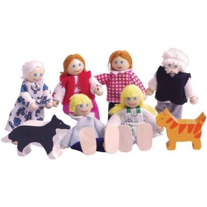 Rose-Cottage-Doll-House-family