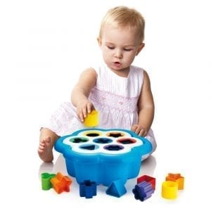 Daisy Shape Sorter Quercetti 1st Toy