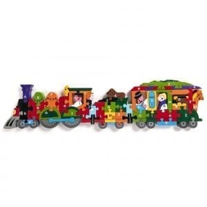 Alphabet Train Jigsaw