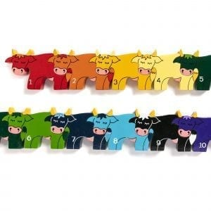 Cow Row Jigsaw