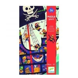 Djeco Giant Puzzle The Pirate Ship