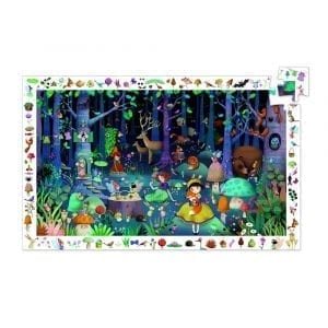 Djeco Observation Puzzle Enchanted Forest