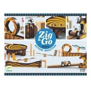 Djeco Zig and Go Action Reaction 45pcs