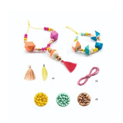 Djeco Beads and Cubes