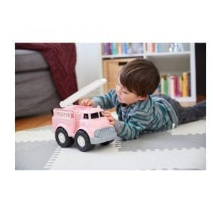 GreenToys Fire Truck Pink