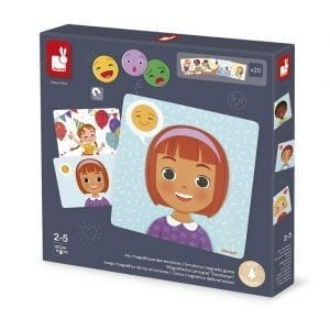 Janod Emotions Magnetic Game
