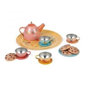 Janod Metal Tea Set Dinnerware