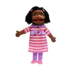 Puppet Buddies Medium Girl Dark Skin Tone