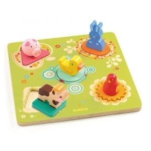 Djeco Bildi 3D Jigsaw Duck & Friends