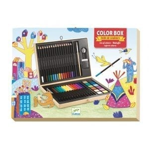 Djeco Colour Box and Arty Block