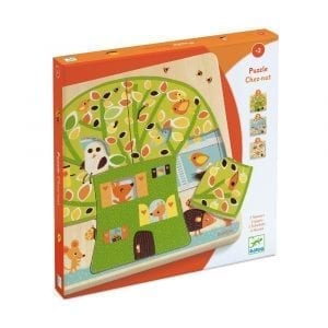 Djeco Chez Nut 3 layers Puzzle