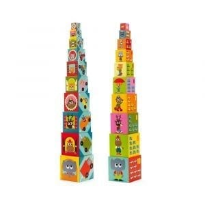 Djeco Vehicles Stacking Blocks