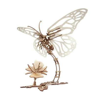 UGears Butterfly Mechanical 3D Puzzle