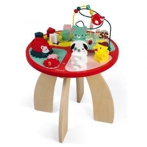Janod Activity Table Baby Forest