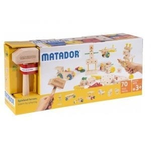 Matador Wooden Building Kit Maker 70pcs