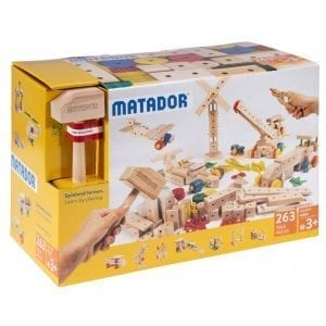 Matador Wooden Building Kit Maker 263pcs