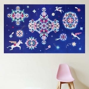 Creative Sticker Poster Constellation