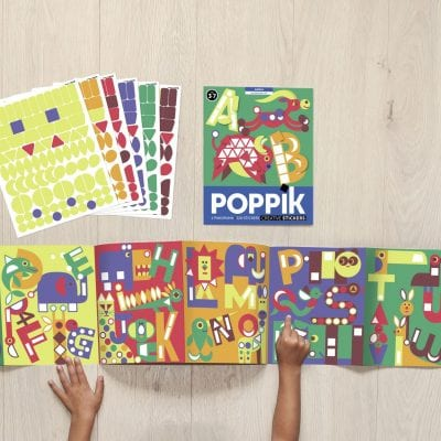 Sticker Panorama Letters