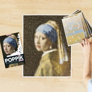Sticker Artworks Vermeer