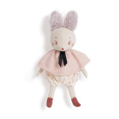 Moulin Roty Soft Toy Brume the Mouse Baby First Toy