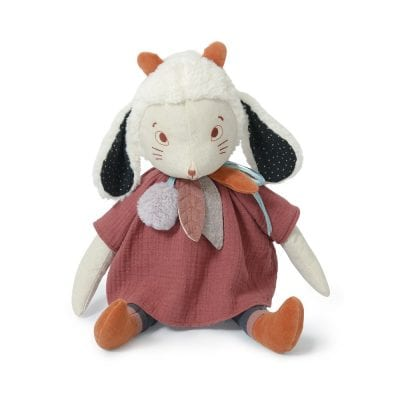 Moulin Roty Soft Toy Fenouil the large Sheep Baby First Toy