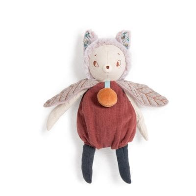 Moulin Roty Soft Toy Giboulee the Cat Baby First Toy