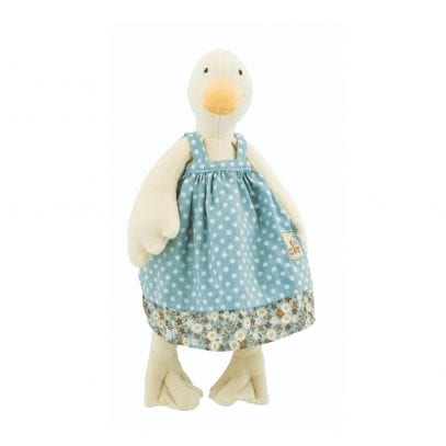 Moulin Roty Soft Toy Jeanne the Duck Baby First Toy