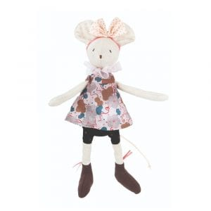 Moulin Roty Soft Toy Lala the Mouse Baby First Toy