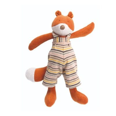Moulin Roty Soft Toy Little Gaspard the Fox Baby First Toy