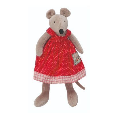 Moulin Roty Soft Toy Nini the Mouse Baby Toy