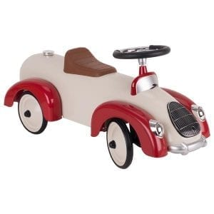 Metal Ride-on Vehicle Beige-Red