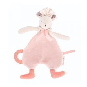 Moulin Roty Mimi the pink Mouse Comforter