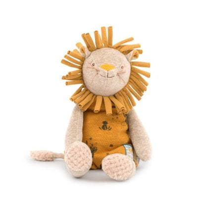 Moulin Roty Soft Toy Paprika the Lion Baby Toy