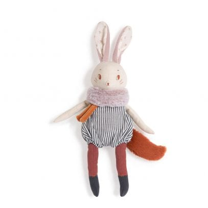 Moulin Roty First Toy Plume Large Rabbit Soft Toy