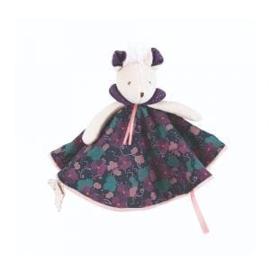 Moulin Roty Purple Mouse Comforter